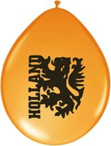 Ballonnen 23Cm Oranje m leeuw/100