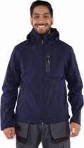 Storvik Napier - Softshell jas - Heren - Maat XL - Donkerblauw