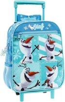 Disney Trolley Rugzak Frozen Olaf 27 X 33 X 11 Cm Lichtblauw