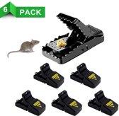 Herbruikbare Muizenval | 4 STUKS | Rattenval | Muizenklem | Muizen & Ratten bestrijding | Rattenplaag | Muizenplaag | Snel & Hygiënisch