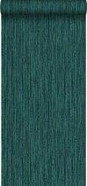 Origin behang bamboe smaragd groen
