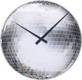 NeXtime Wandklok Disco Glas - ø43 cm
