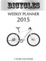 Bicycles Weekly Planner 2015