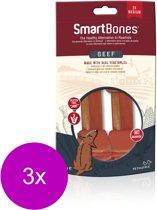 Smartbones Classic Bone Chews Rund - Hondensnacks - 3 x Medium