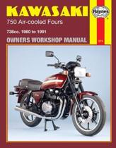 Kawasaki 750 Air-Cooled Fours 1980-91 Owner's Workshop Manual