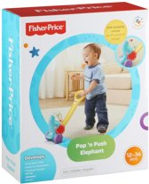 Fisher-Price Duw & Rij Olifant - Looptrainer