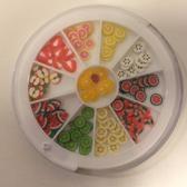 Netama's Beauty Nail Art/Decoratie (fimo fruit)set voor de nagels