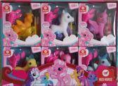 Horka Speelgoed paardje Fantasy kinderen per stuk
