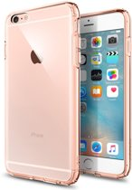 Spigen Ultra Hybrid voor Apple iPhone 6/6s Plus Back Cover - Roze