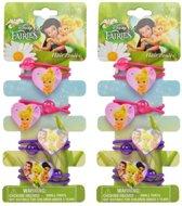 Disney Fairies - Tinkerbell haarelastiekjes | 8 stuks
