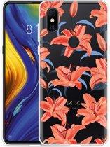 Xiaomi Mi Mix 3 Hoesje Flowers