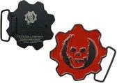 Gears Of War - Crimson Logo Buckle