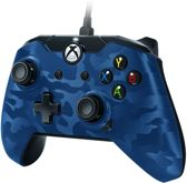 PDP Gaming Controller - Official Licensed - Xbox One + Windows - Blauw Camo