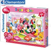 Disney Minnie Mouse - Clementoni SuperColor Puzzel - 104 Stukjes