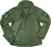 101inc Heavy Duty fleece jack groen