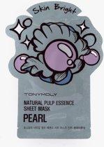 TonyMoly Natural Pulp Essence Sheet Mask Pearl