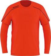 Uhlsport Stream 22 Goalkeeper Shirt Heren Sportshirt - Maat L  - Mannen - rood/oranje/blauw