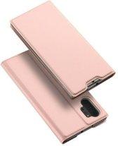 Samsung Galaxy Note 10 Plus hoesje - Dux Ducis Skin Pro Book Case - Rosé-Goud