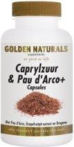 Golden Naturals Verlichting Golden Naturals Caprylzuur & Pau d'Arco +