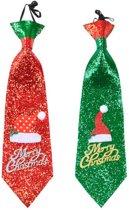 Kerst Stropdas Glitter