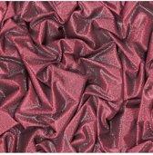 Faux Semblant glitterstof rood behang (vliesbehang, rood)