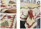 Kerstkleed - Gobelin - Ribbon - Loper - 100 x 40 cm