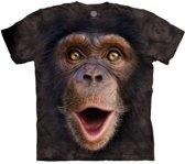 Aap T-shirt Chimpansee jong voor volwassenen 40/52 (L)