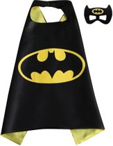 Batman Cape Masker | Superheld Cape Masker | Kinderfeestje | Verkleedpak | Kind | One Size