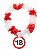 Hawaii Krans 18 Jaar Verkeersbord