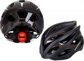MTB helm met verlichting | E-bike | Fietshelm met verlichting >> ingebouwd achterlicht. Licht van gewicht en extra veilig in het verkeer
