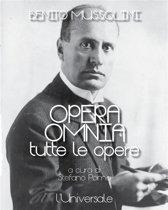 Opera omnia di Benito Mussolini