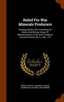Relief for War Minerals Producers