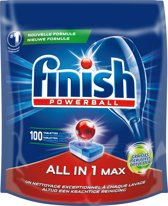 Finish All in 1 Max Grease Fighter Kwartaal Pak - 100 stuks - Vaatwastabletten