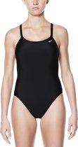 Nike Swim Racerback One Piece Dames Badpak - Black - Maat 34