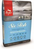 Orijen 6 fish cat kattenvoer 5,4 kg