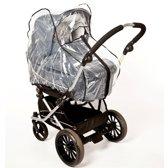 Altabebe - Kinderwagen Regenhoes met rits en ventilatie opening - Universele Regenkap - Universeel Regenscherm voor Kinderwagens