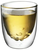 QDO Elements - Koffie- en theeglazen - Set van 2 Dubbelwandige Glazen - Water - 210ml