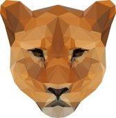 Rock that Wall muursticker leeuwin uit de Diamond Zoo Collectie