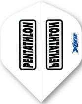 McKicks Pentathlon X180 Flight Std - White