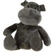 Warmteknuffel lavendel-tarwe nijlpaard