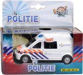 Globe Politiebus - Schaalmodel - Mercedes -Wit