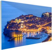 Dubrovnik Kroatie Glas 60x40 cm - Foto print op Glas (Plexiglas wanddecoratie)