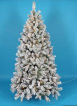 Royal Christmas Sneeuw Boom Chicago Kunstkerstboom - 150 cm - 150 Warm LED lampjes - 198 Takken