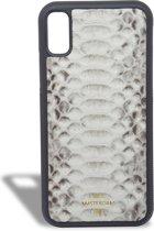 Luxe iPhone  X/XS Case- Total White |Sjiek Amsterdam