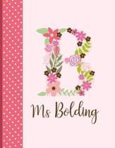 MS Bolding