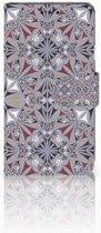 LG X Style Boekhoesje Design Flower Tiles