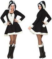 Verkleed kostuum -  schaap verkleed jurkje voor dames - carnavalskleding - voordelig geprijsd XL (42-44)