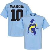 Boca Juniors Maradona 10 T-Shirt - XXL