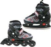 Inline Skate/Schaats Zwart 35-38 Abec 7