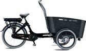 Vogue Carry - Bakfiets (elektrisch) - Unisex - Zwart;Grijs - 20 Inch